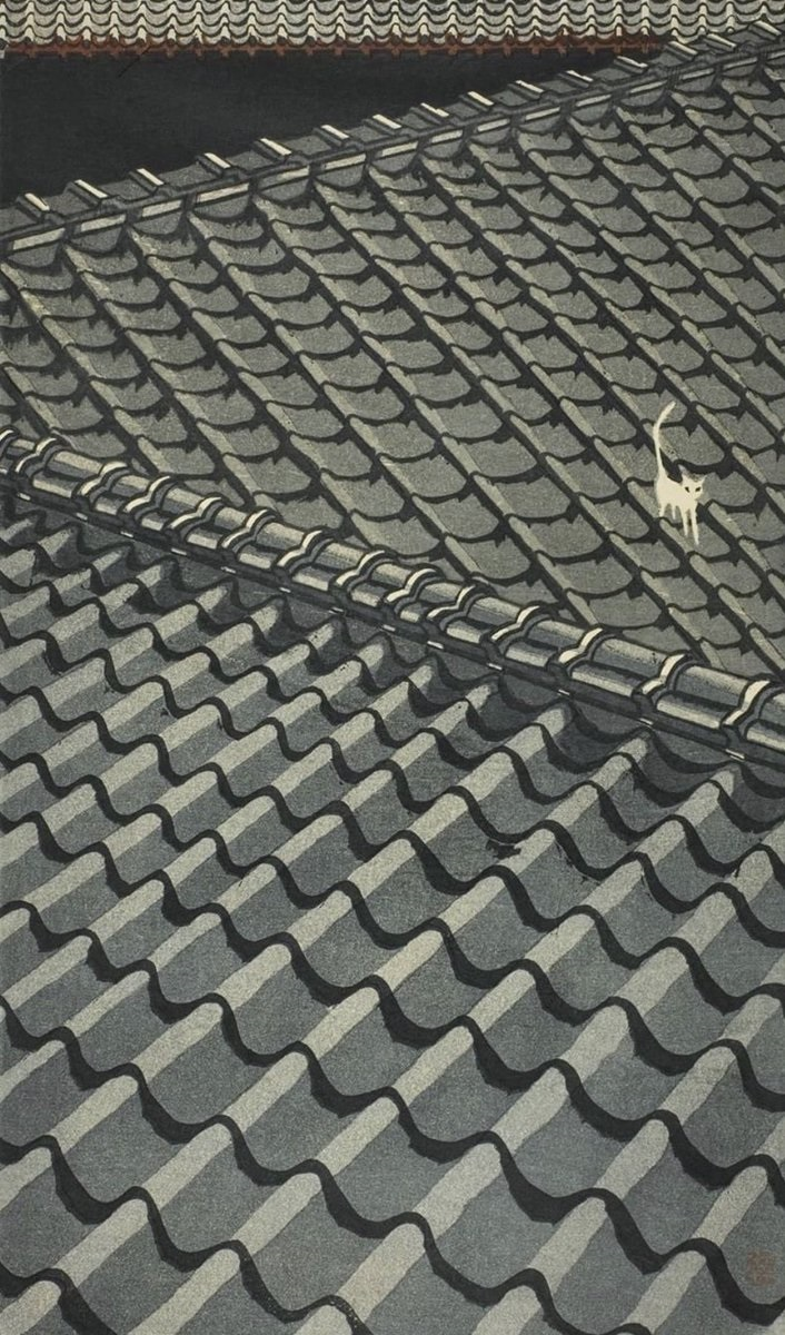 Junichiro Sekino Cat Roof