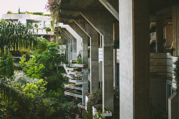 Espai Verd, A Vegetal Urban Cathedral