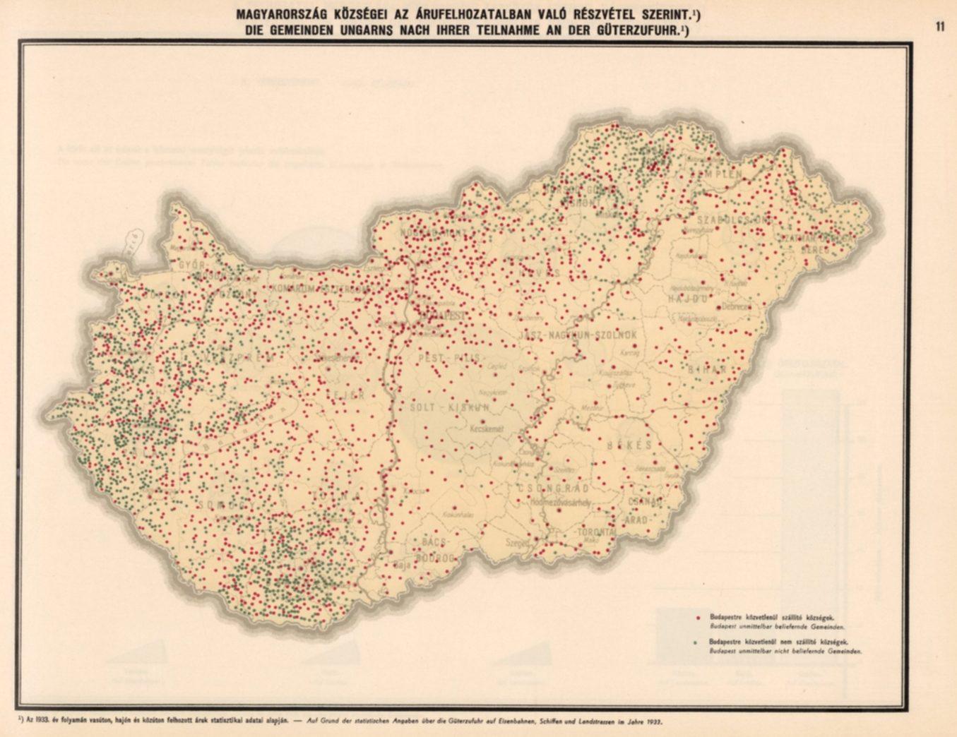 Lajos Illyefalvi Map Hungary Budapest