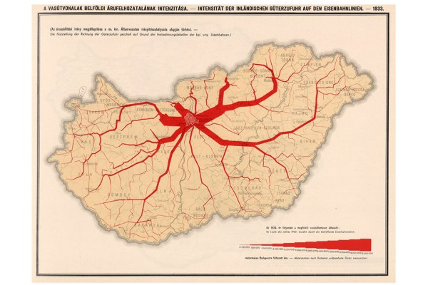 The Graphic Work of the Hungarian Statistician Lajos Illyefalvi