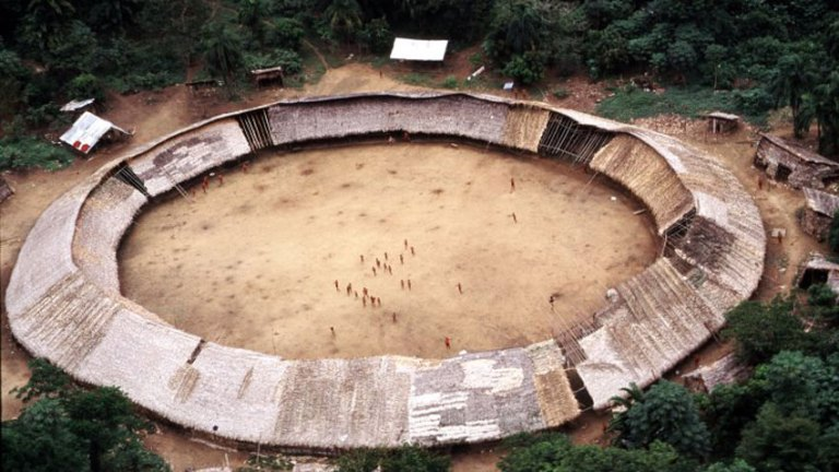 The Shabono, the Structure of the Yanomami Community