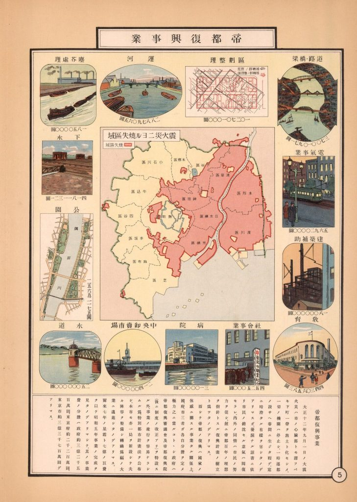 Tōkyo Shisei Zuhyo Tokyo Statistical Atlas 1935 Isotype