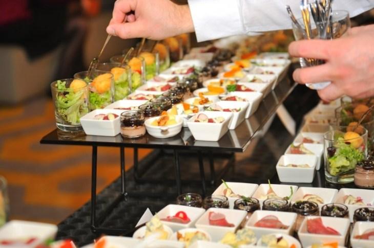 Flying Buffet bei Ihrer Firmenveranstaltung