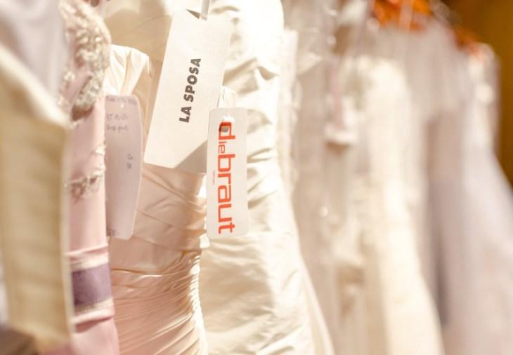 Die Braut in Göttingen hat eine riesige Auswahl an Brautkleidern.