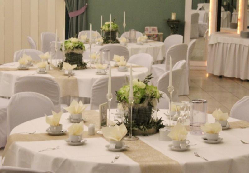 Tischdeko Hochzeit Runder Tisch Teurer Schmuck