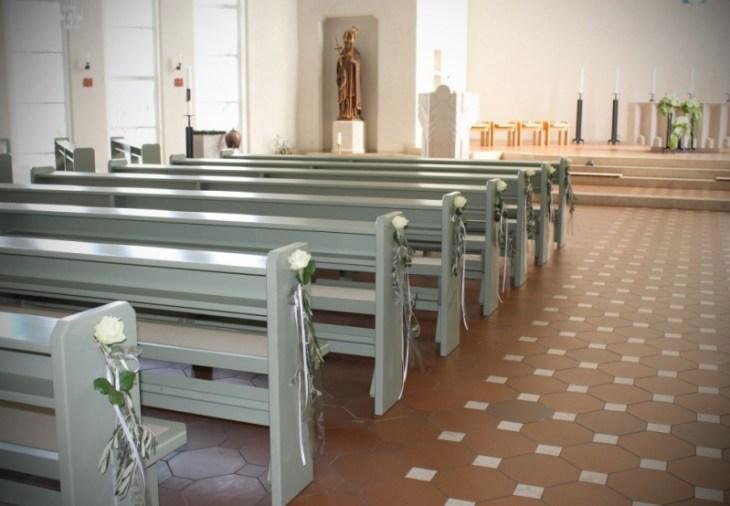8 Kirche St. Bonifatius Leinefelde Dekoration Hochzeit