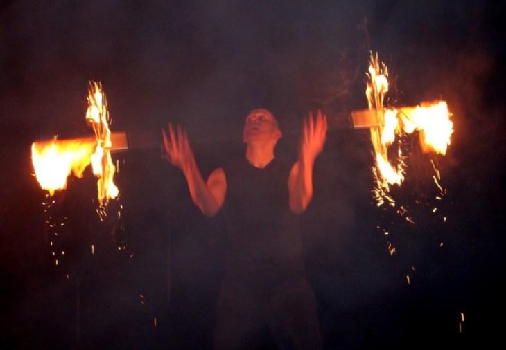Feuervariete Feuershow Cedrus Inflamnia Hochzeit 1