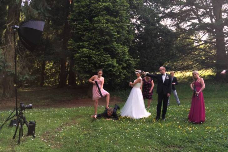 "Das Making-Of von ""The wedding dead"""