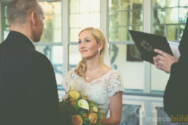 Ja-Wort Brautpaar