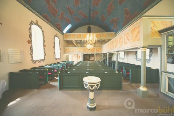 Kirche Hochzeit Waake dekoriert