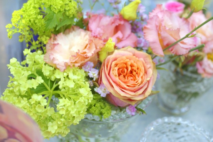 Vintage Blume Göttimger Hochzeitsträume