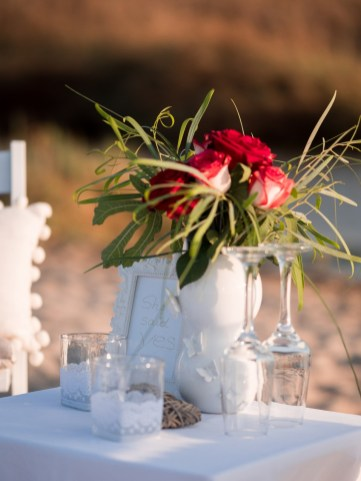 Dekoration Planung Heiratsantrag Kreta Hochzeit Antrag Blumen