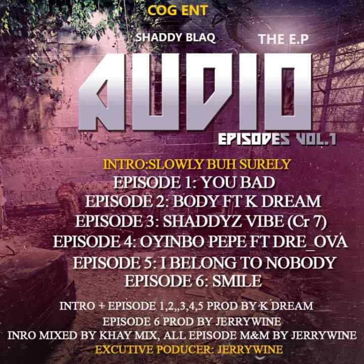 Shaddy Blaq Audio Episodes Vol.1 The