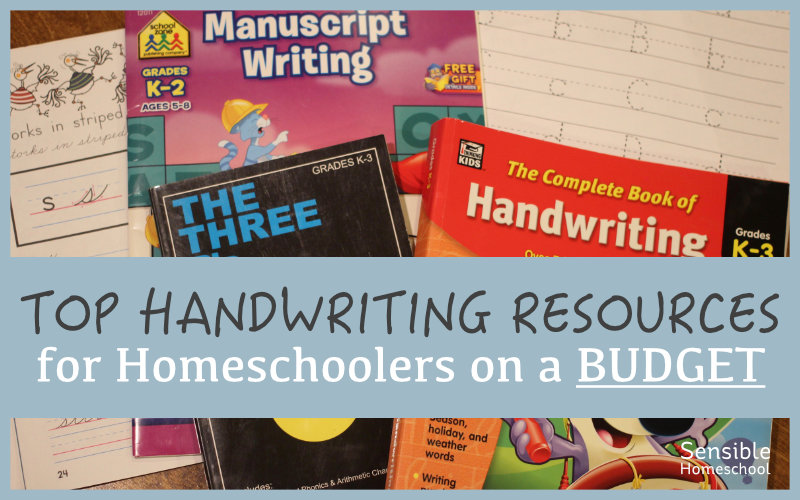 Top Handwriting Resources for Homeschoolers on a Budget