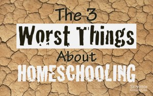 The 3 Worst Things About Homeschooling