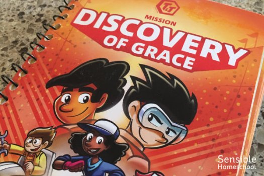 Cover of the AWANA T&T Handbook, 'Discovery of Grace'