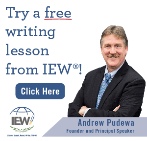 IEW Writing Program Free Lesson Offer