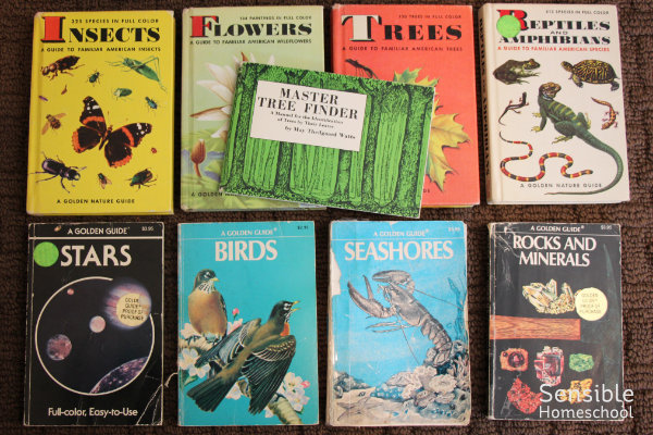 Homeschool science nature study guide books