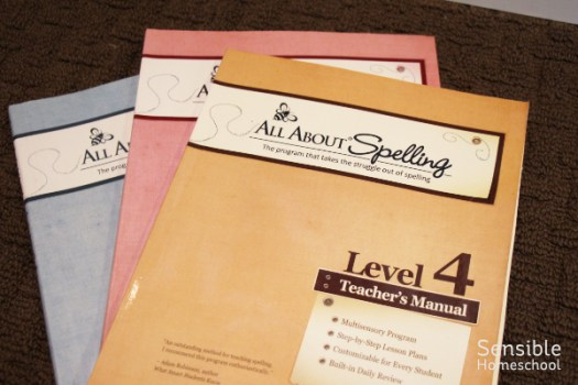 All About Spelling homeschool curriculum
