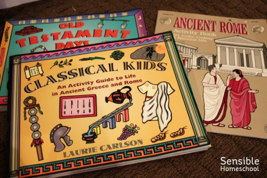 Old Testament Days and Classical Kids and Ancient Rome student activity books