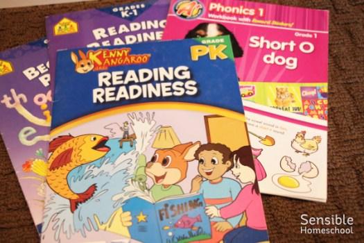 PreK and Kindergarten writing workbooks for homeschool