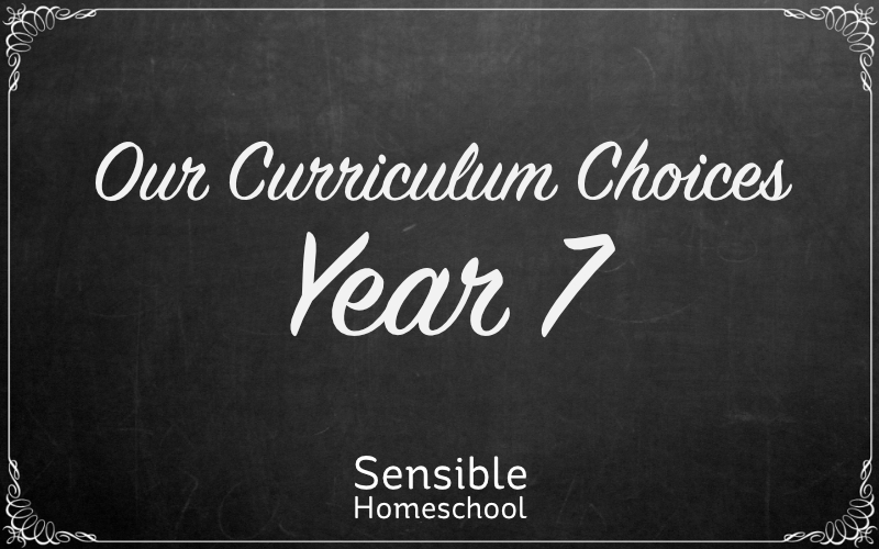 Our Curriculum Choices - Year 7 on chalkboard background