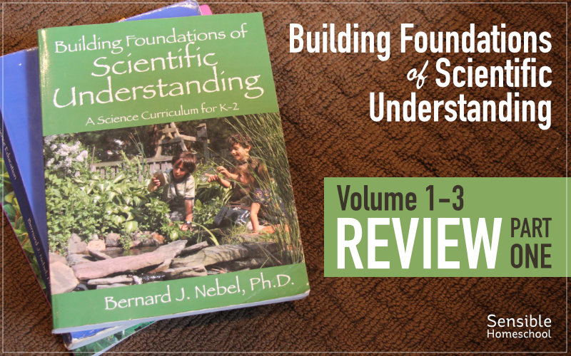 Building Foundations of Scientific Understanding BFSU Review Part 1