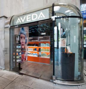 Aveda pop up store 01