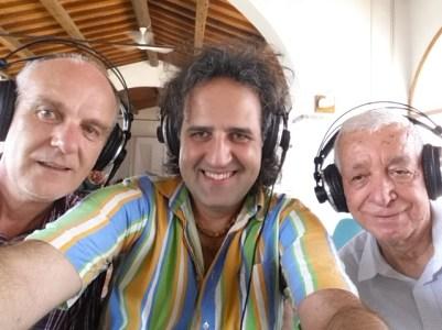 Mite Balduzzi (compositore) Emanuele Chirco (arrangiatore) Andrea Quarta (fonico dei missaggi Forward Studio)