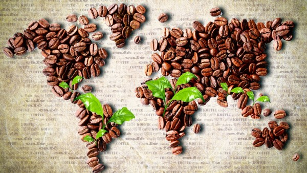 7030505-coffee-beans-world-map