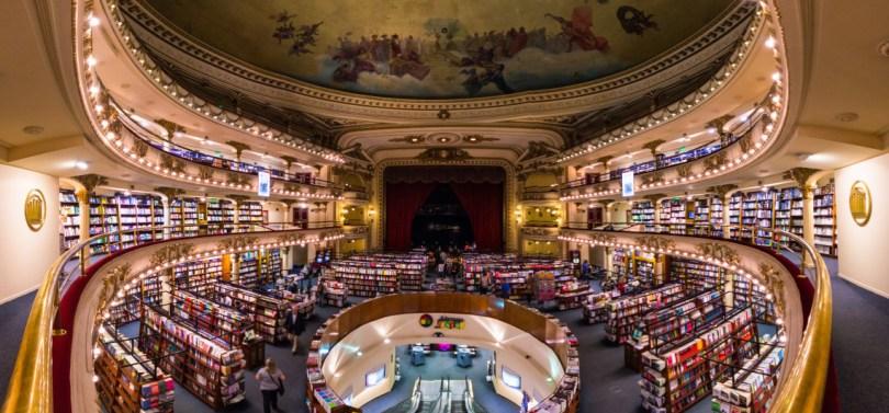 El Ateneo Biblioteca di Buenos Aires