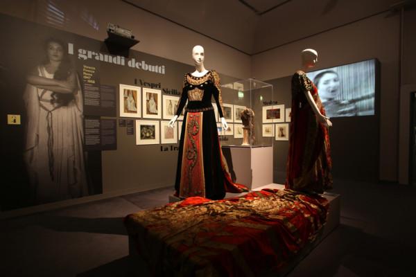 mostra Maria Callas Palazzo Forti Verona