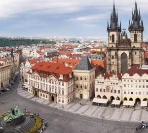 Praga anima verde e magica
