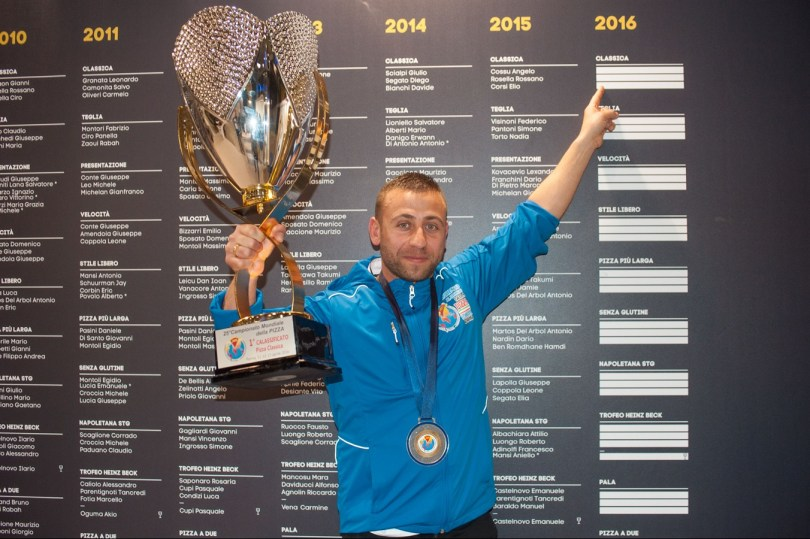 Ludovic Bicchierai campionato mondiale della pizza
