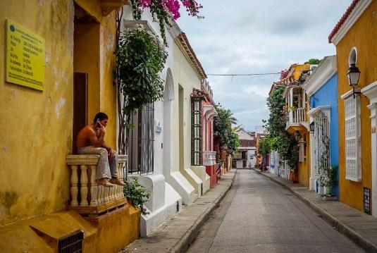 Cartagena-in-Colombia-le-vie-della-cittàù-vecchia