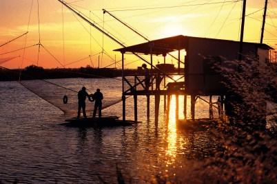 Chioggia_pescatori tramonto_m