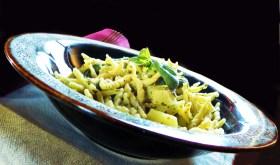 Trofie fagiolini e patate. 176