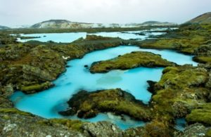 Islanda The Blue Lagoon in Iceland (Large)