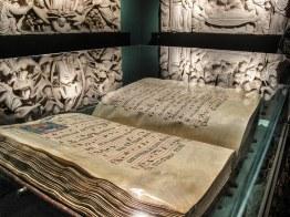 Pacino di Buonaguida (1303-1343) Madonna assunta che dona la cintola a S - Copia