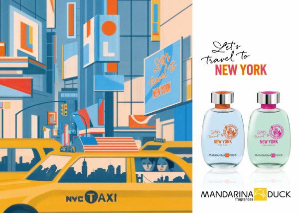 Mandarina Duck Let´s travel to NY