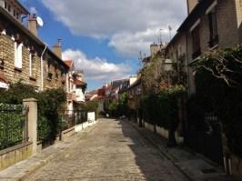 alla scoperta del villaggio Parigino - rue Irénée Blanc