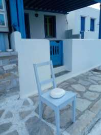 Isola di Tinos sedia a Panormos
