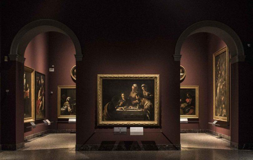 Caravaggio -Pinacoteca-di-Brera-Sala-28