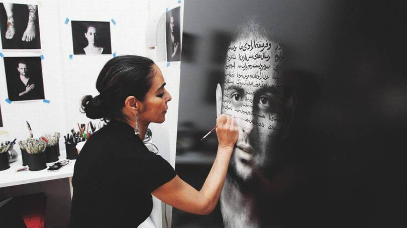 Ornellaia -Vendemmia d'Artista-Shirin Neshat-La Tensione
