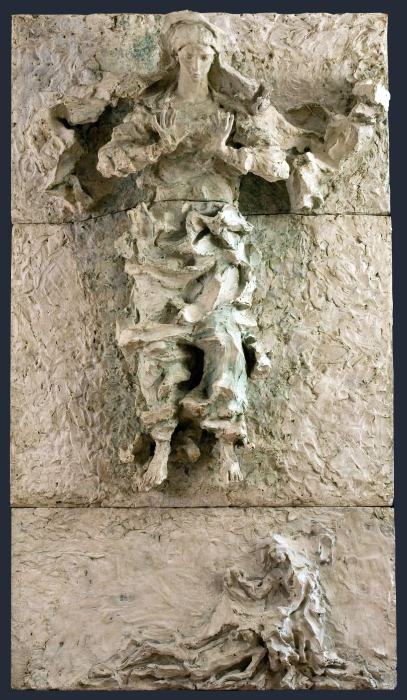 Pietà - Lucio Fontana- Museo_ Diocesano_ Milano