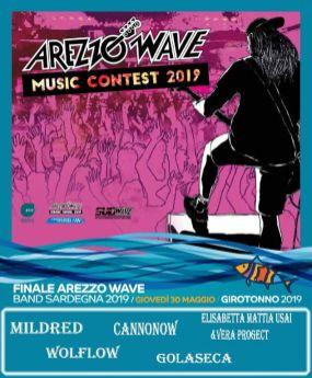 Finale Arezzo Wave Band Sardegna 2019