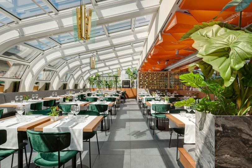 Maio Restaurant: le guglie nel piatto eun restyling all'insegna dell'italianità