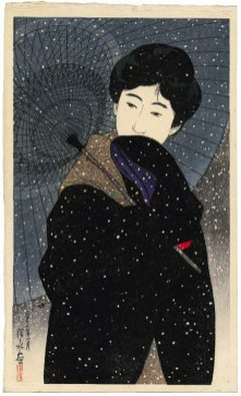 2-8 shinsui - snowy night