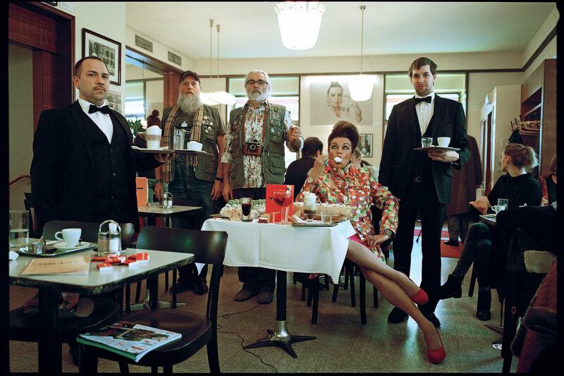 Il Café Korb di Vienna: così stravagante, così normale