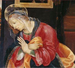 """L'Annunciazione"""" di Filippino Lippi"""